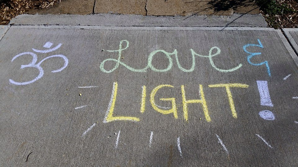 love and light at circle